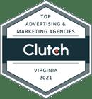 Top digital marketing agency on Clutch, 2021
