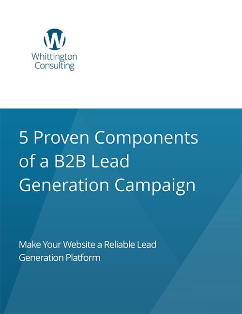 5 Proven Components of a Digital B2B Lead Generation Campaign