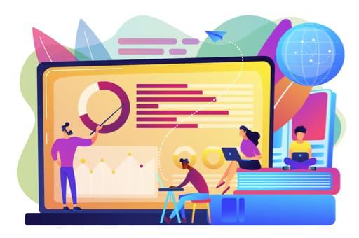 Illustration - Icon - Marketing With HubSpot